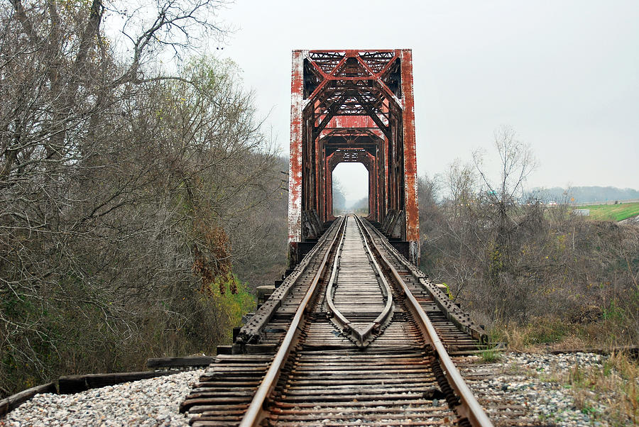 Blanton Photograph - The Tracks by Teresa Blanton