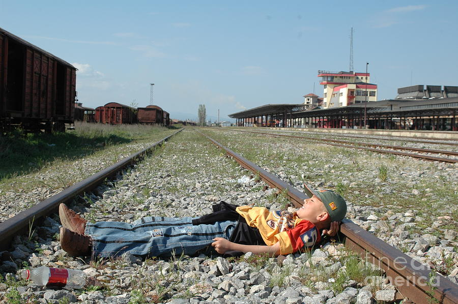 The Train Coming Tomorrow Photograph by Arif Zenun Shabani