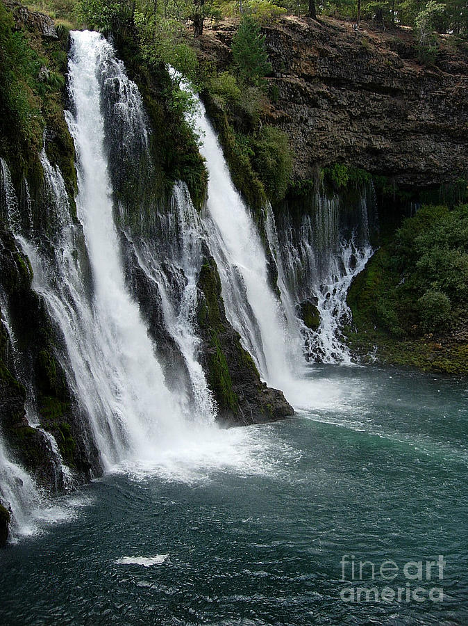 Tranquility Photograph - The Tranquility Of Waterfalls by Stephanie  H Johnson