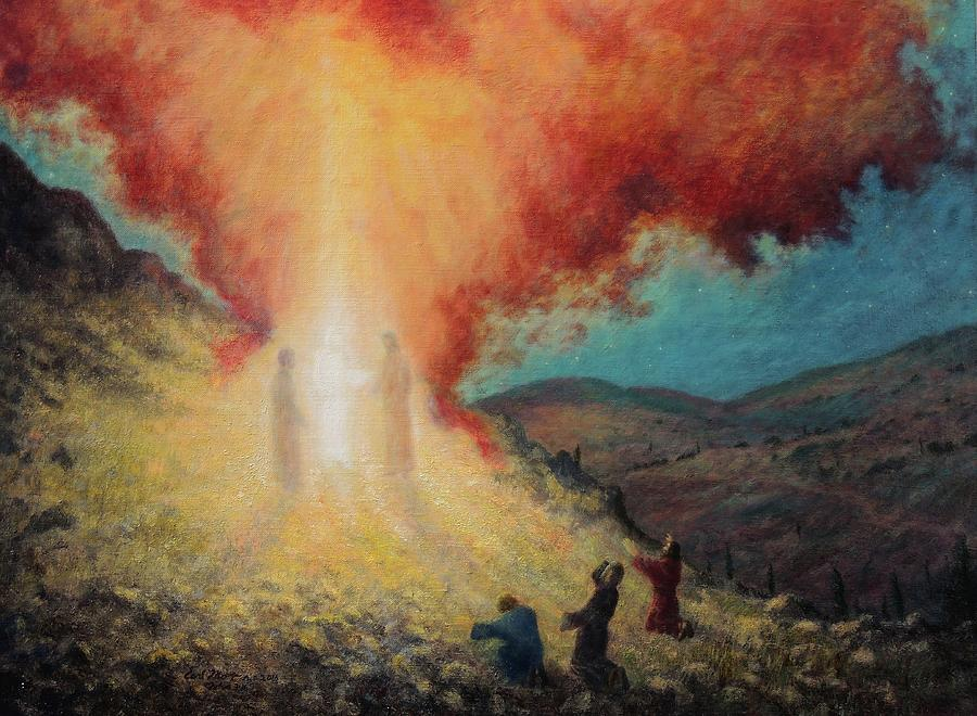The Transfiguration Of Christ Painting by Earl Mott