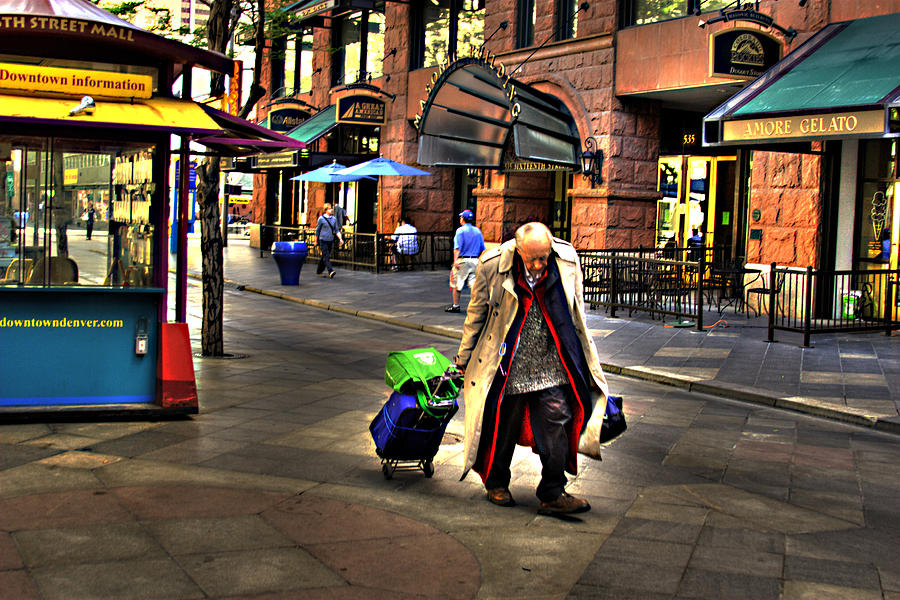 Denver Photograph - The Traveler by Laurie Prentice
