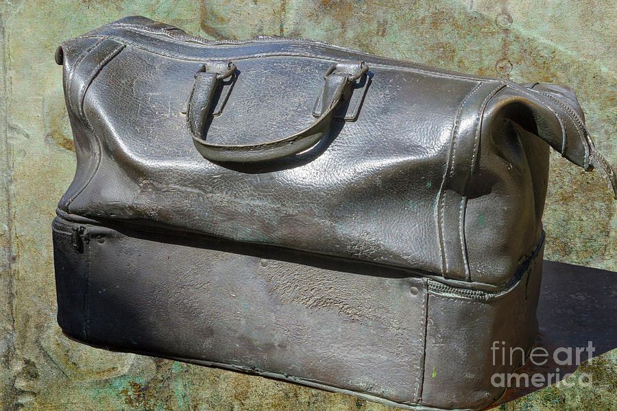 Bag Photograph - The Travellers Travel Bag by Heiko Koehrer-Wagner