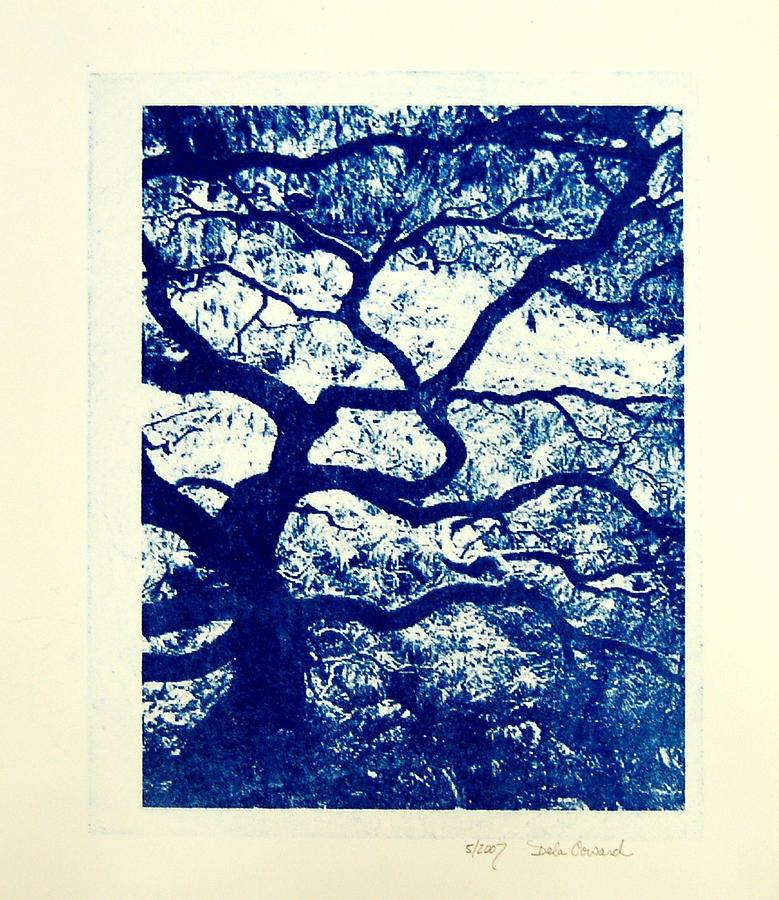 Tree Print - The Tree by DeLa Hayes Coward