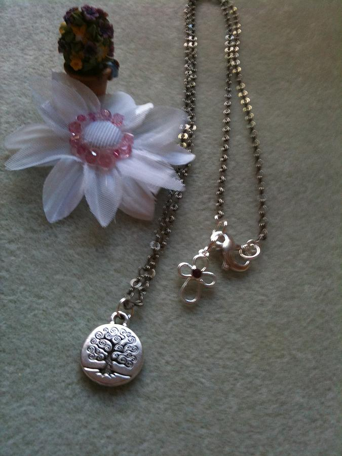 Stamped Jewelry Jewelry - The Trees Of Life by Melanie A Leon