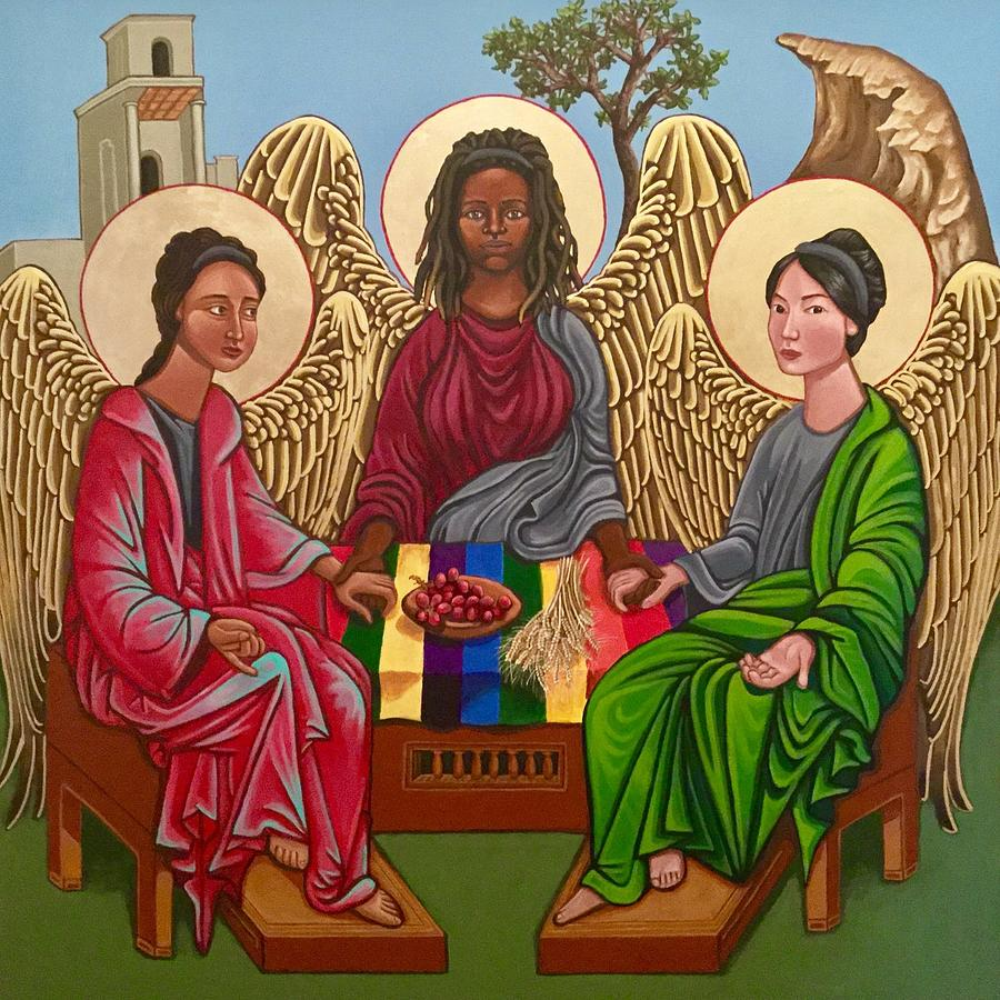 Trinity Painting - The Trinity by Kelly Latimore
