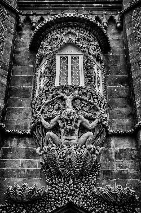 The Triton of Pena Palace. by Pablo Lopez