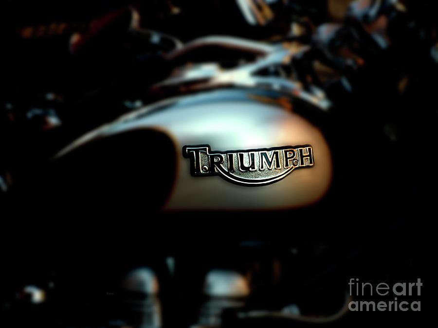Triumph Photograph - The Triumph by Steven Digman