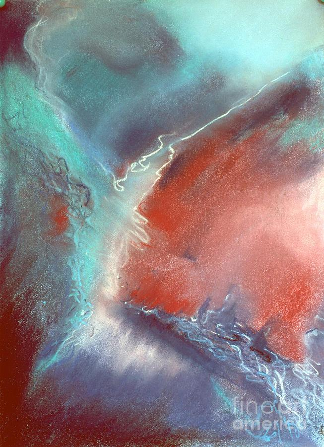 Abstract Pastel - The Trouble Between You And I by Shirley McMahon