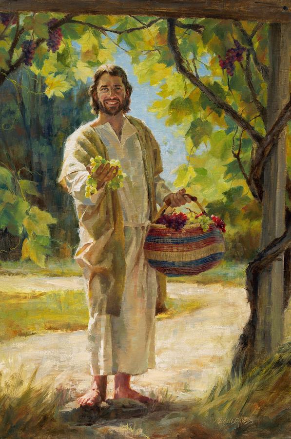 *Donne-nous notre Pain de ce jour (Vie) : Parole de DIEU *, *L'Évangile et le Livre du Ciel* - Page 9 The-true-vine-michele-davis