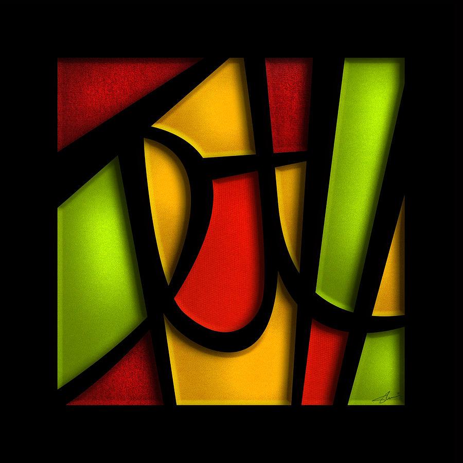The Way Mixed Media - The Truth - Abstract by Shevon Johnson