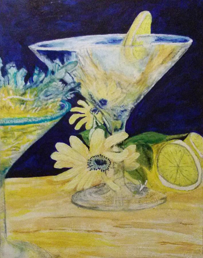 Truth Painting - The Truth in The Drink by Michelle Reid