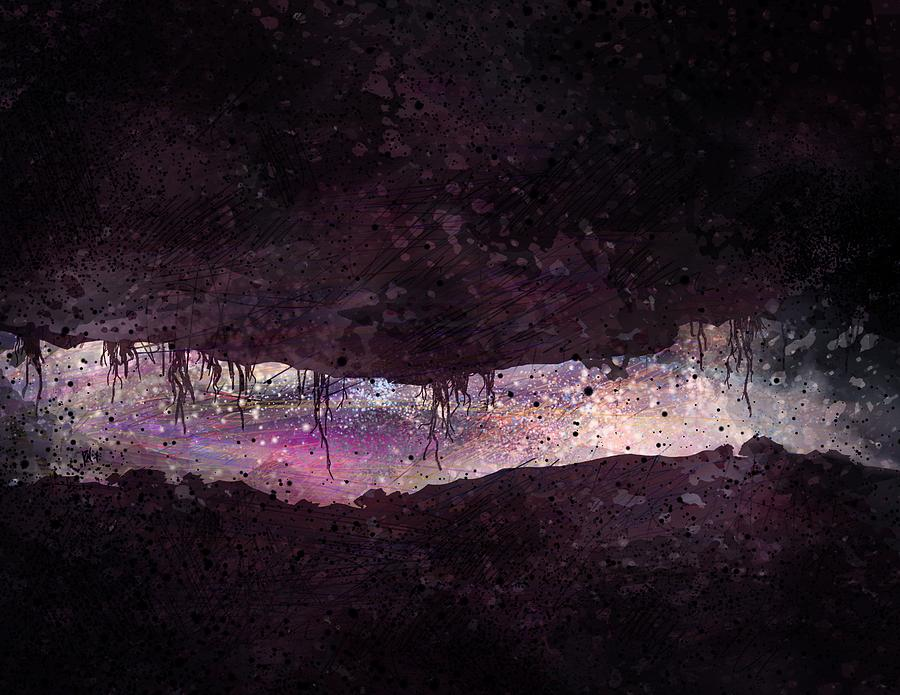 Tunnel Digital Art - The Tunnel by William Russell Nowicki