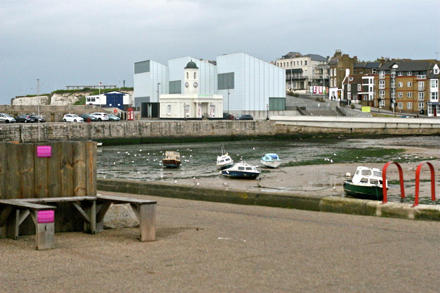 The Turner Contemporary Gallery - Margate Harbour Photograph