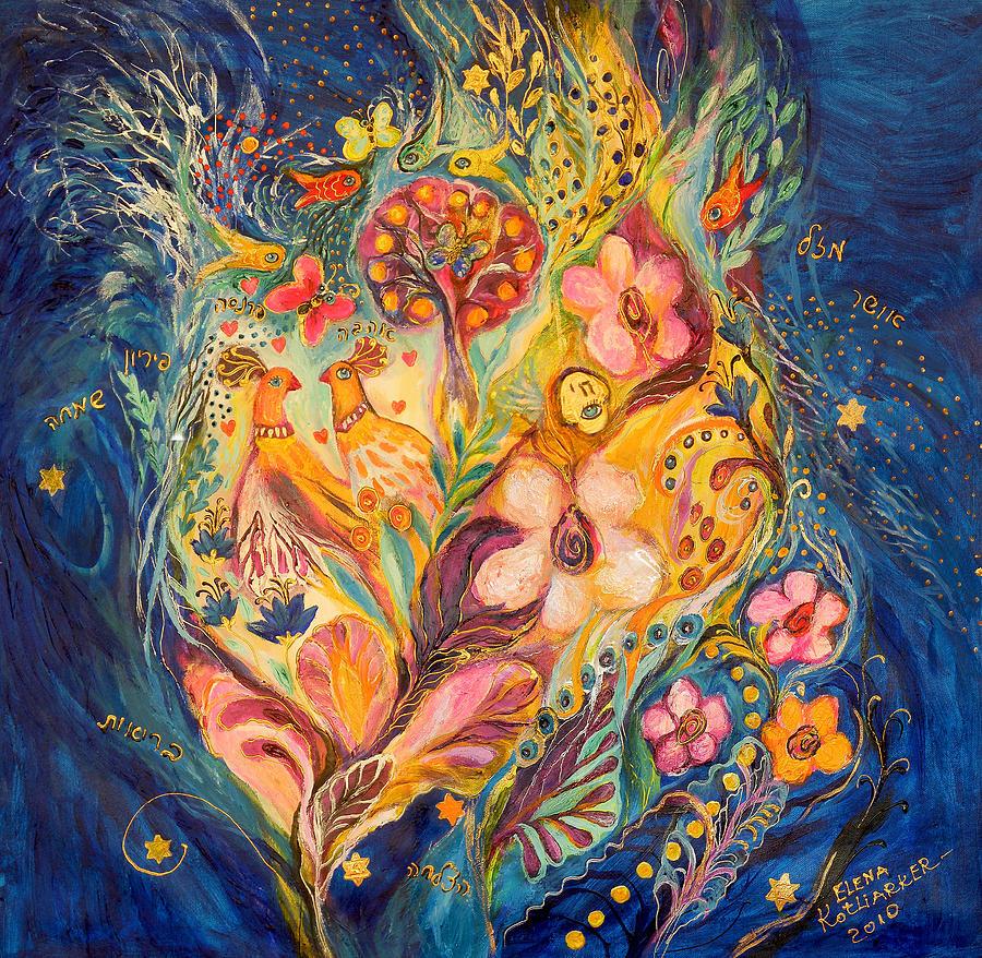 Original Painting - The Twilight Time by Elena Kotliarker