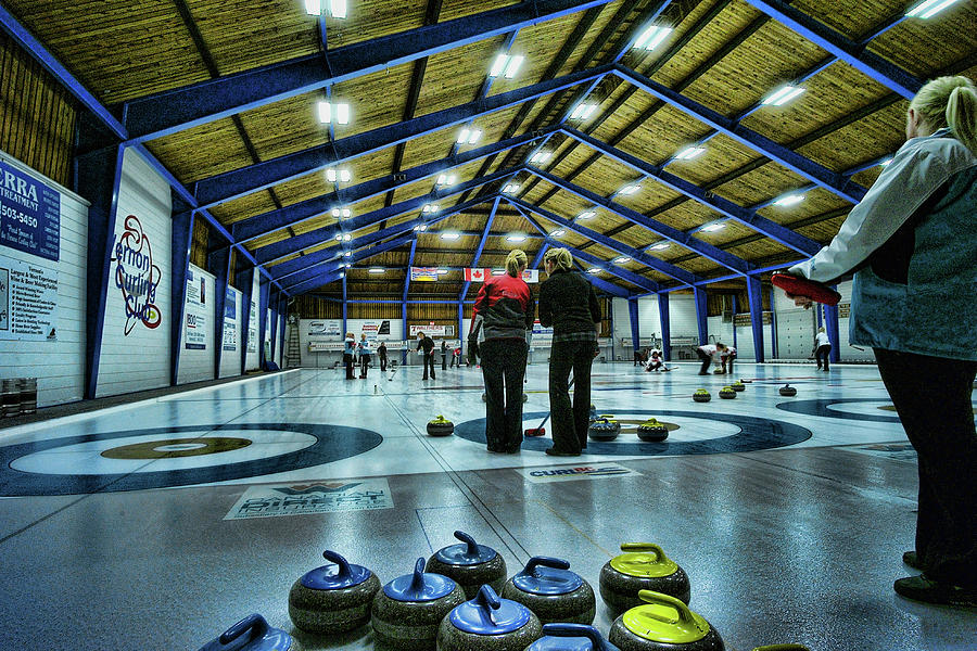 Curling Photograph - The Two Kellys by Lawrence Christopher