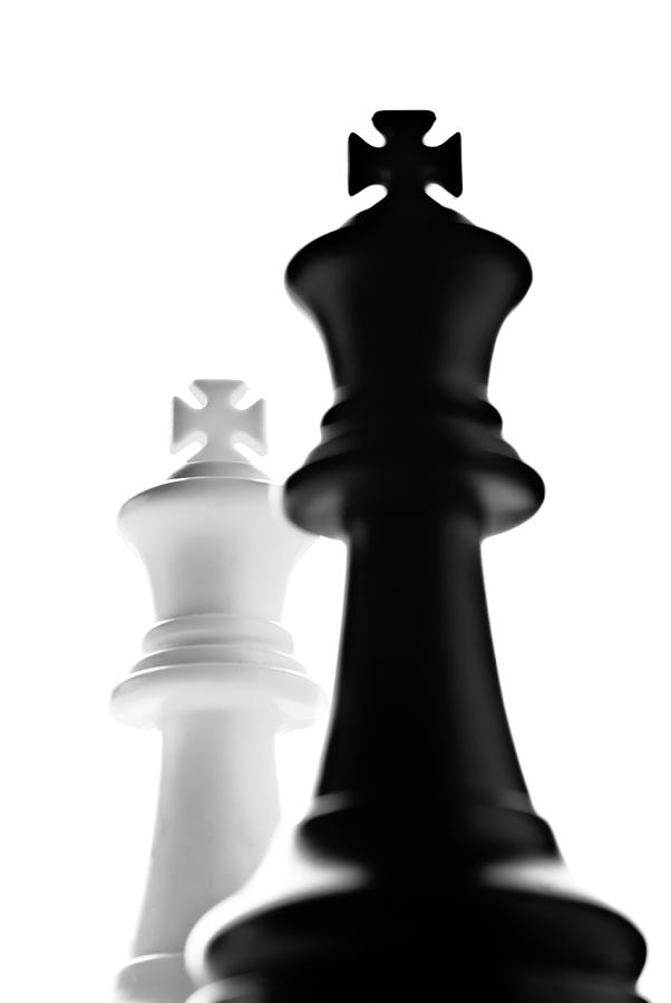 Strategy Board Game Photograph - The Two Kings by  Onyonet  Photo Studios