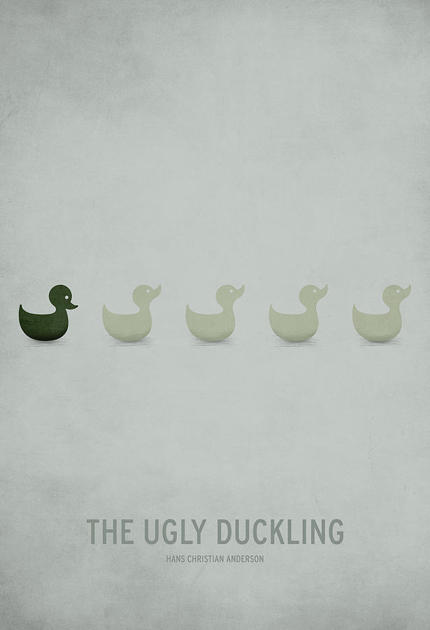 The Ugly Duckling Digital Art by Christian Jackson