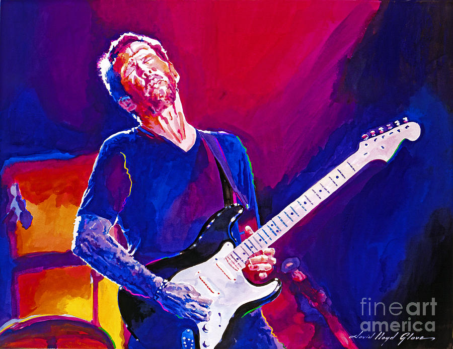 Eric Clapton Painting - The Ultimate Eric Clapton by David Lloyd Glover