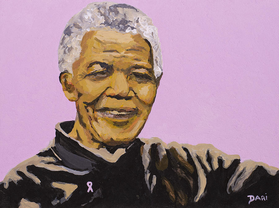 Civil Rights Painting - The Ultimate Male Feminist by Dari Artist