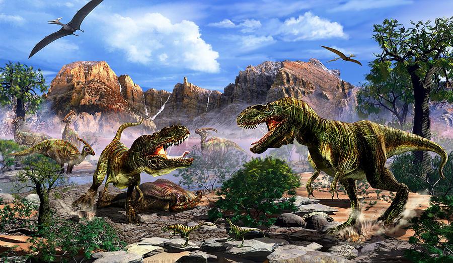 The Ultimate Predator Digital Art by Kurt Miller