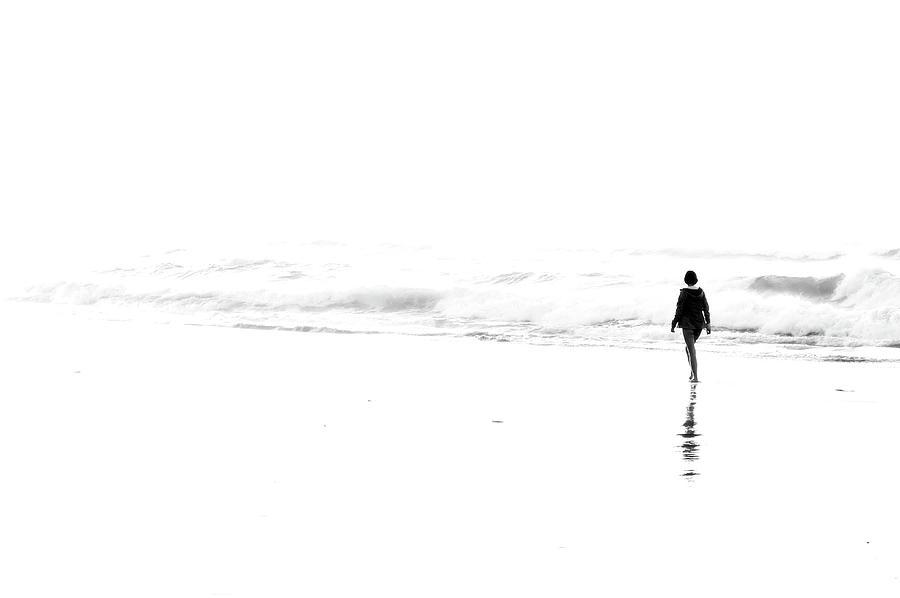 Beach Photograph - The Unbearable Lightness Of Being by Mikel Martinez de Osaba