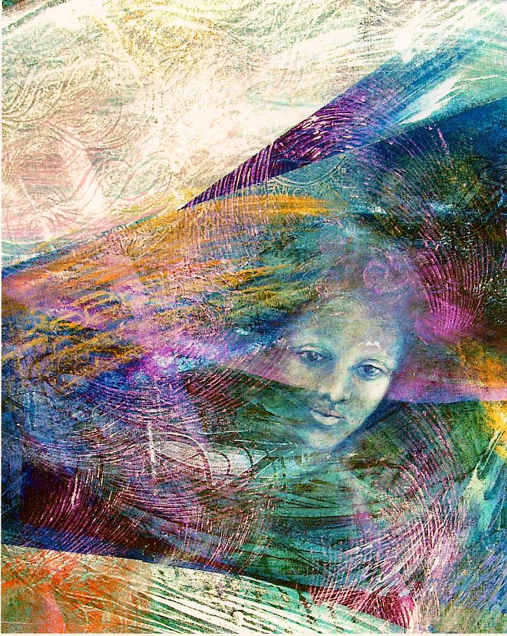 Mystical Painting - The Undine by Sue Reed