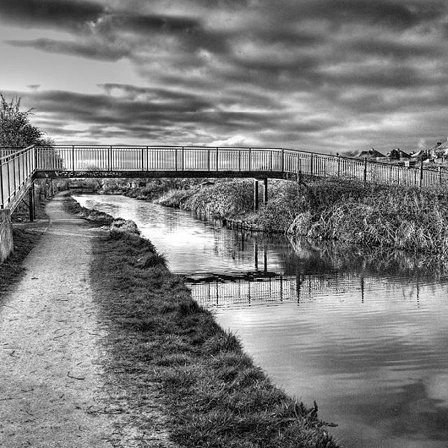 Canal Photograph - The Unfortunately Named Cat Gallows by John Edwards