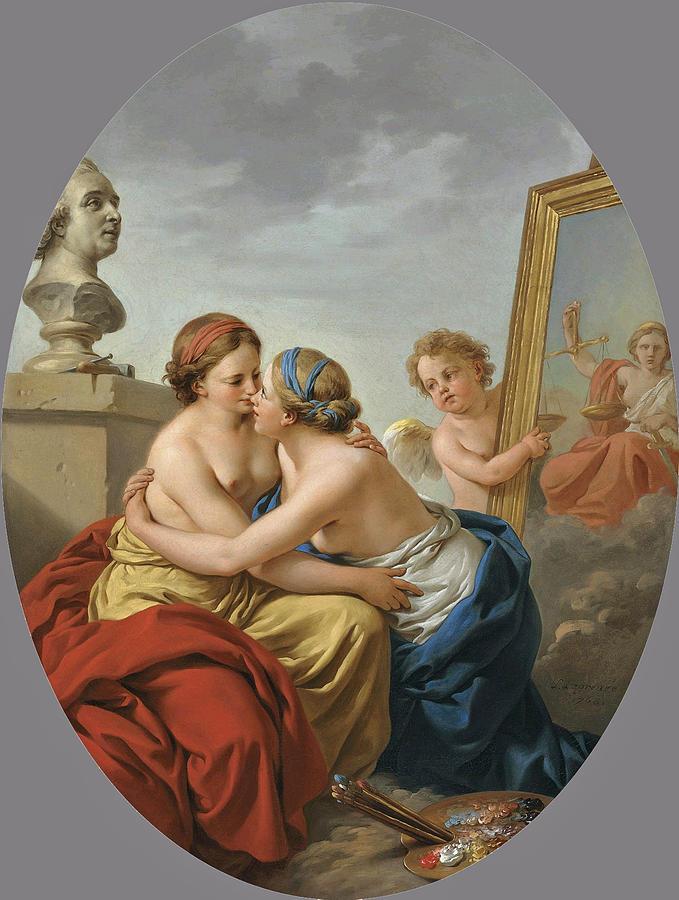 L'unione di Pittura e Scultura
