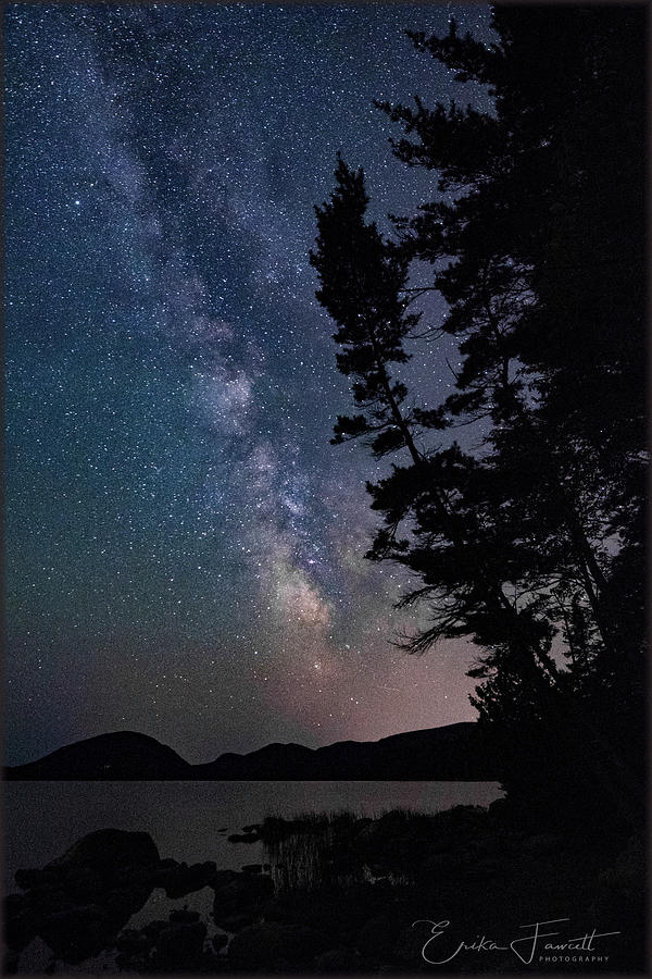 Milky Way Photograph - The Universe by Erika Fawcett
