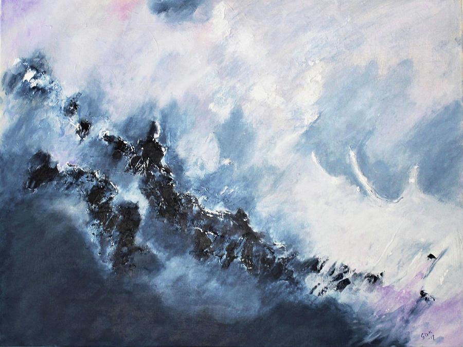The Universe in part 1 by Gloria Dietz-Kiebron