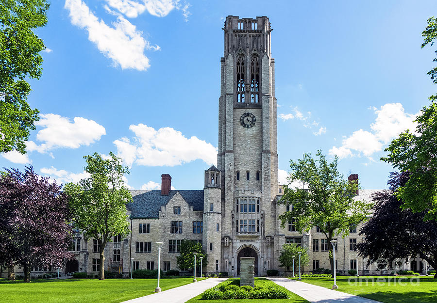 The University of Toledo -- University Hall Photograph by Kenneth ...