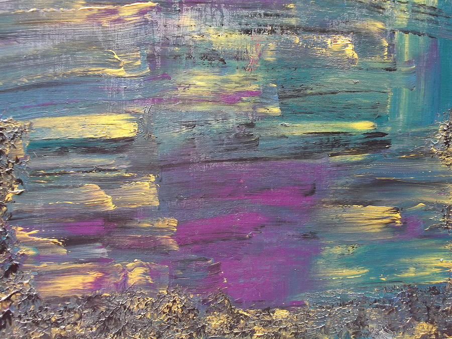 Reflection In Water Painting - The Unknown by Rivka Waas