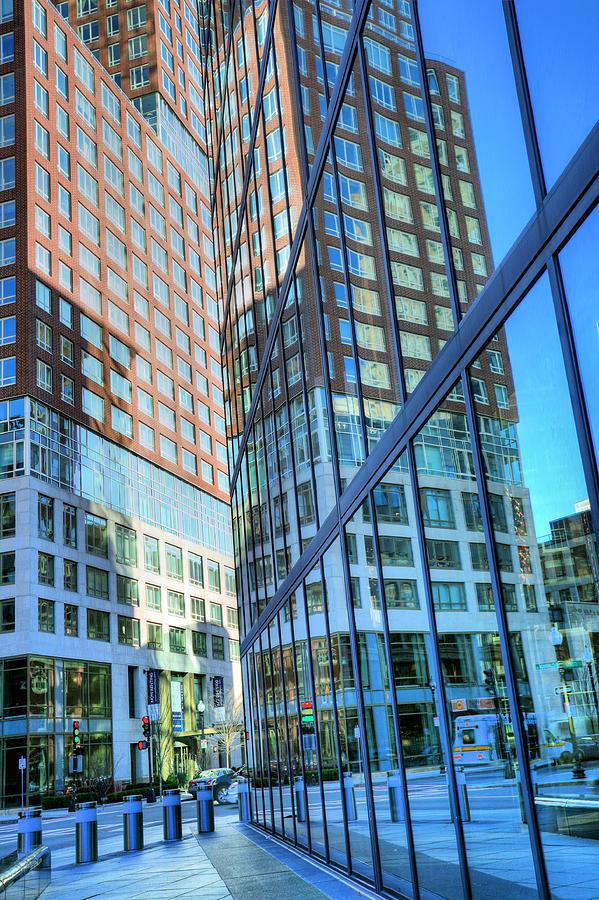 Boston Photograph - The Urban Maze by JC Findley