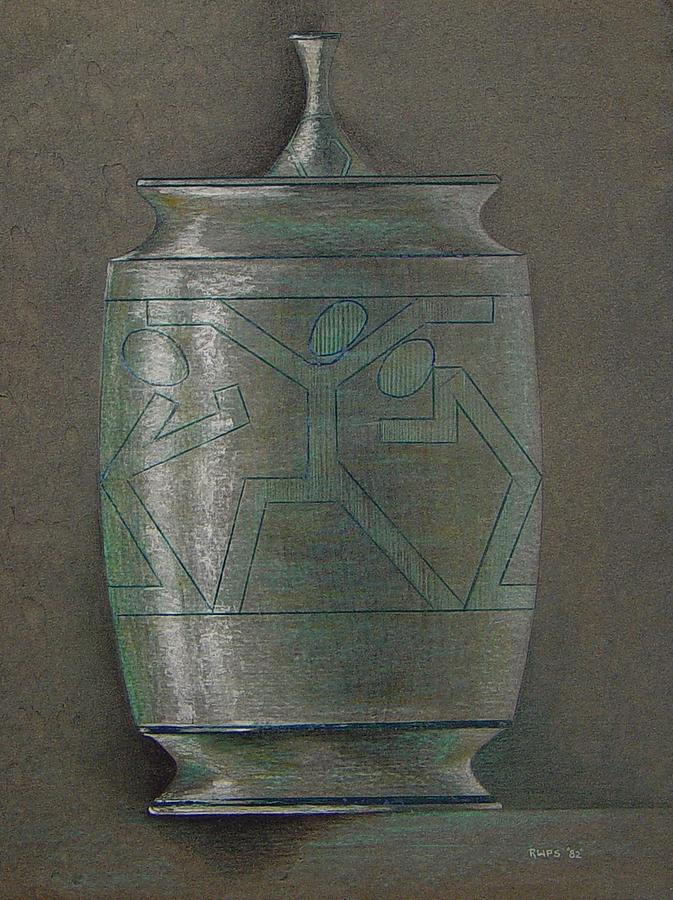 Urn Painting - The Urn by Ron Sylvia