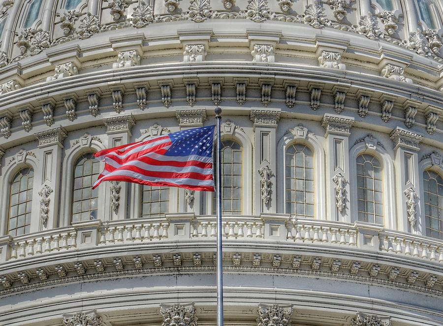 The US Capitol Building - Washington D.C. by Marianna Mills