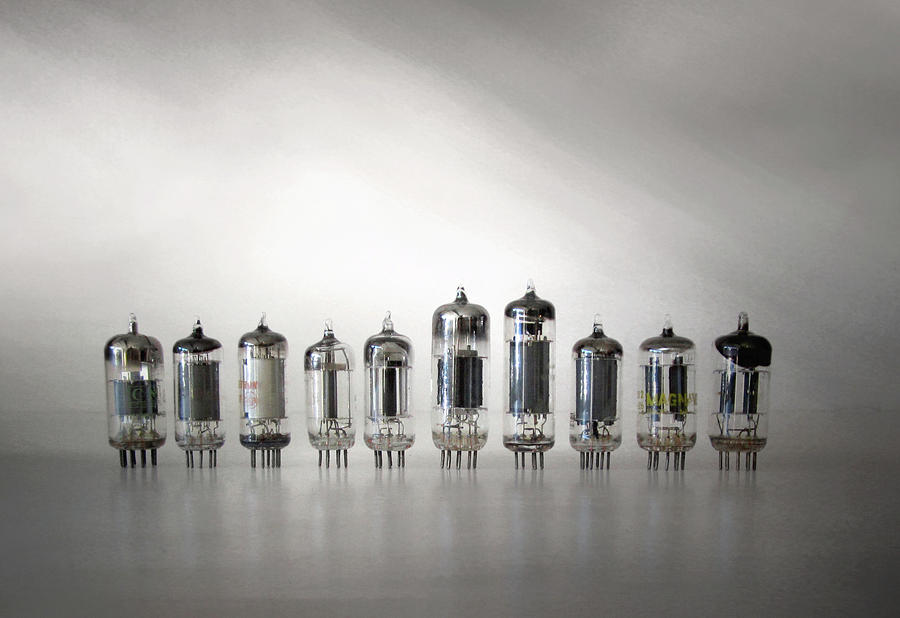 Am Radio Photograph - The Vacuum Tube by David and Carol Kelly
