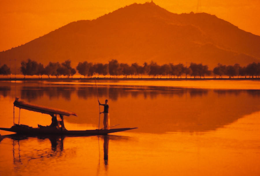Sunset Photograph - The Vale Of Kasmir by Carl Purcell