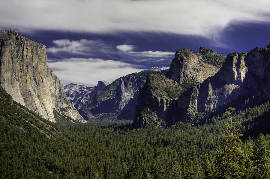 Yosemite Photograph - The Valley by Jim Riel
