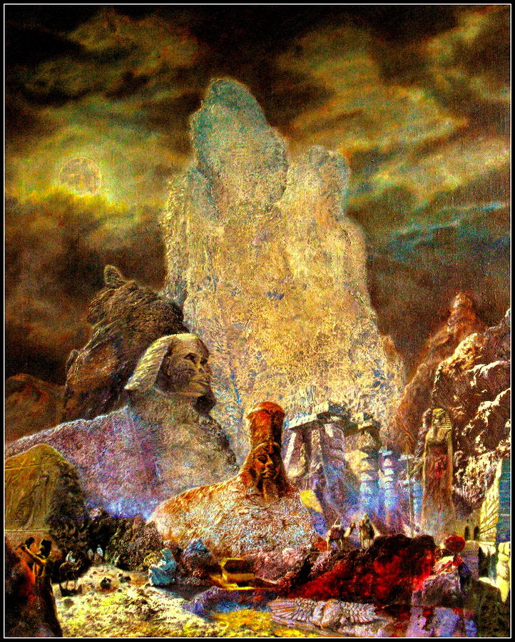 Painting - The Valley Of Sphinks by Henryk Gorecki