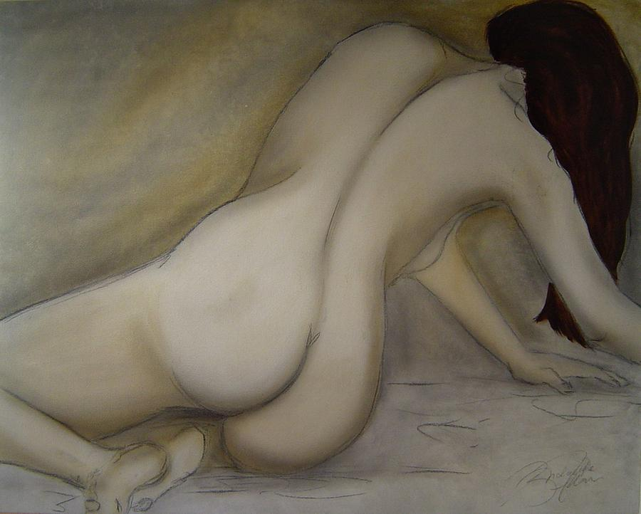 Nude Painting - The Value Of Solitude by Bridgette  Allan
