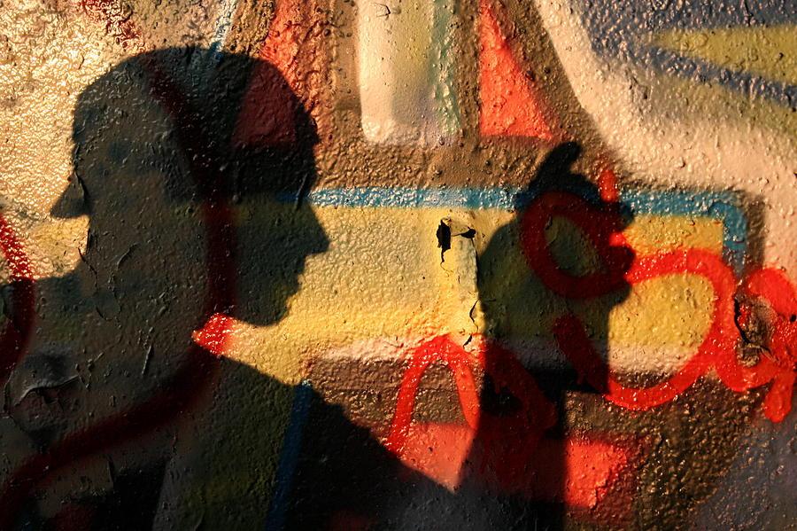 Vandal Photograph - The Vandal  by Jason Hochman
