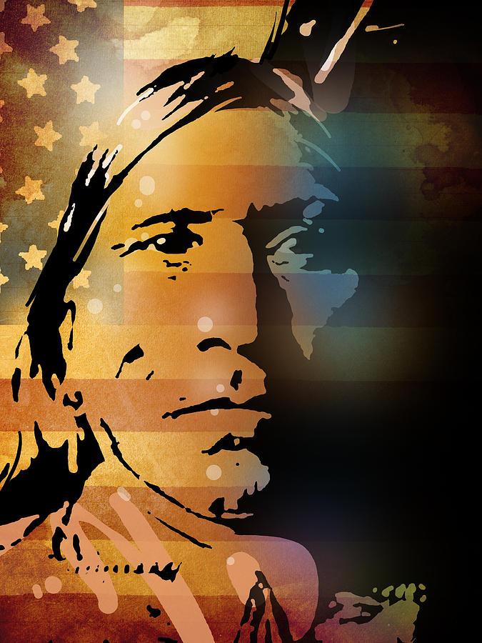 Native American Painting - The Vanishing American by Paul Sachtleben