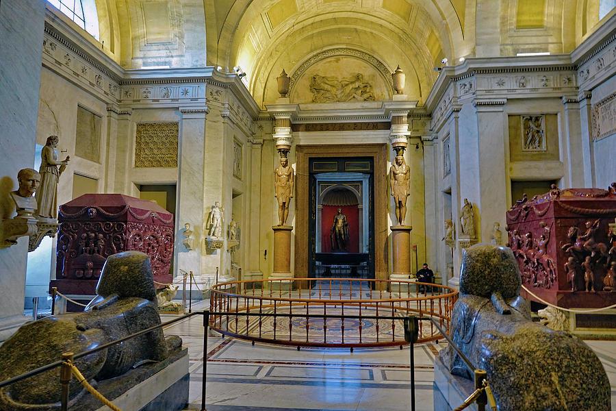 Vatican Photograph - The Vatican Museum In The Vatican City by Richard Rosenshein