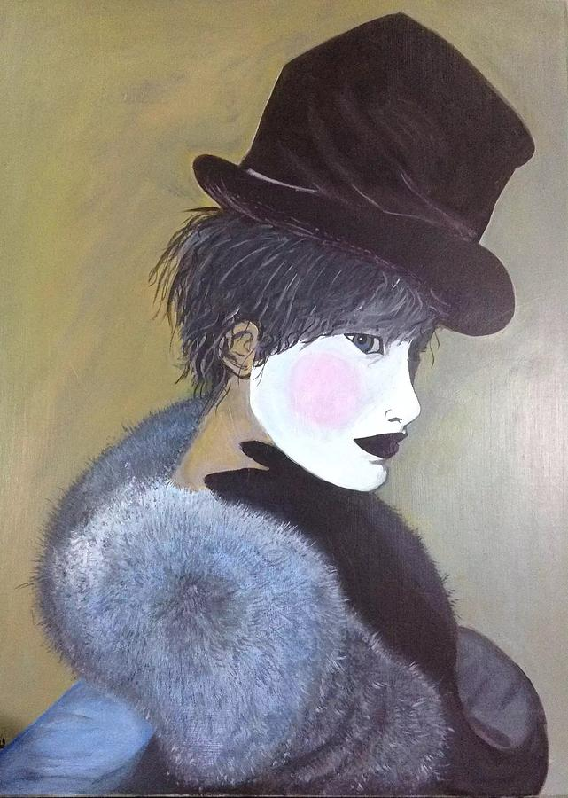 The Velvet Hat Painting by Melissa Pavlovski