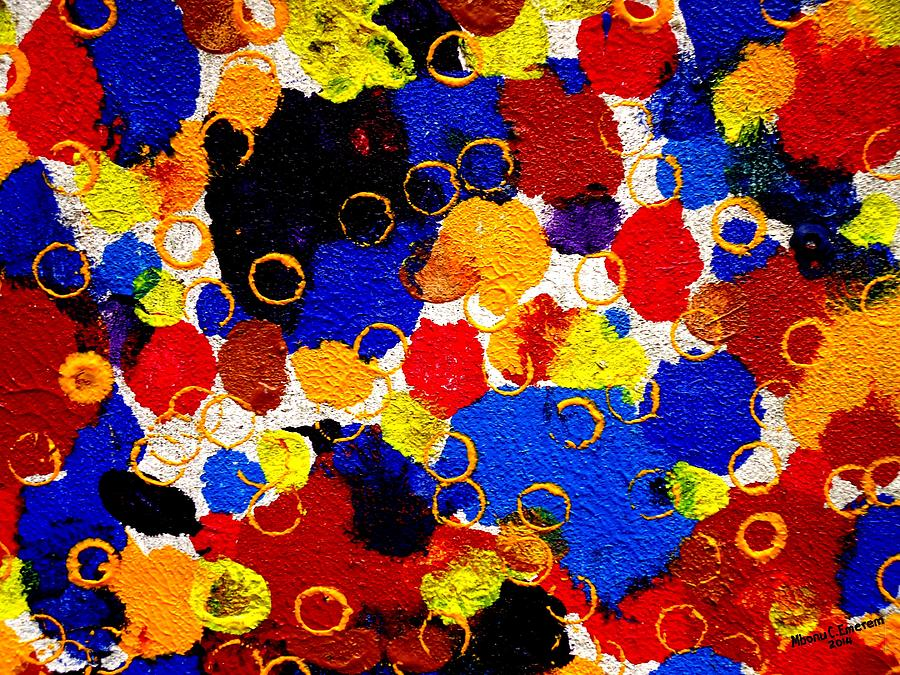 Prints Painting - The Veritable Aspects Of Uli Arts #323 by Mbonu Emerem