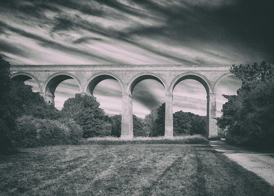 Viaduct Photograph - The Viaduct by Martin Newman