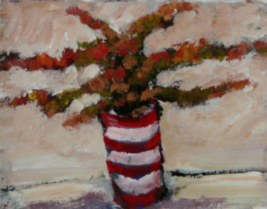 Impressionism Painting - The Victorian Vase by Juliet Mevi