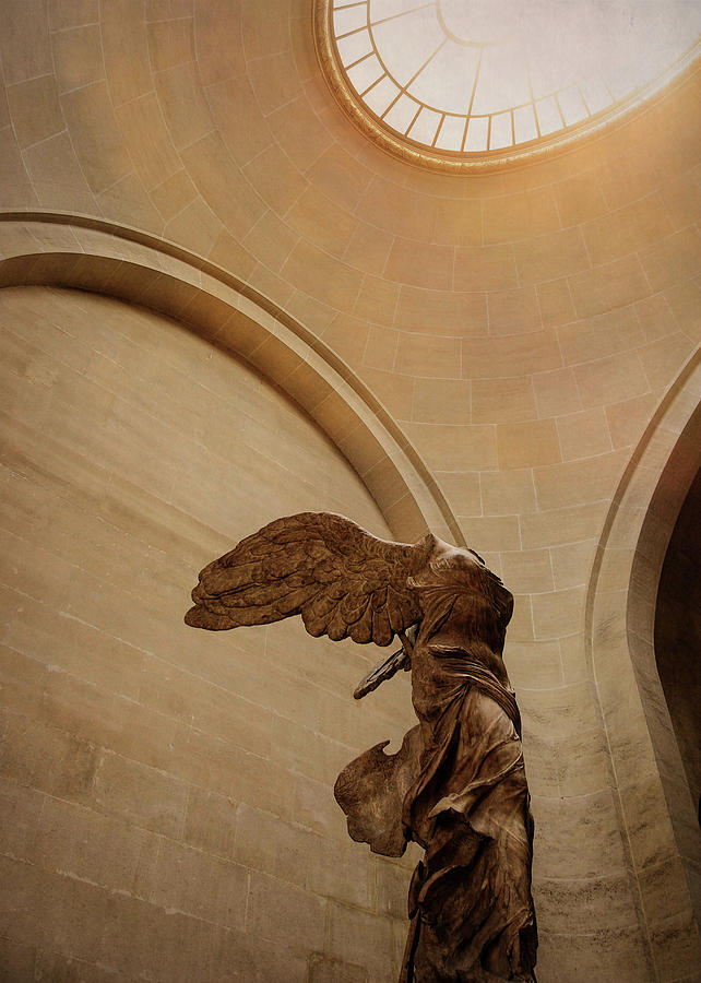 Winged Photograph - The Victory by JAMART Photography