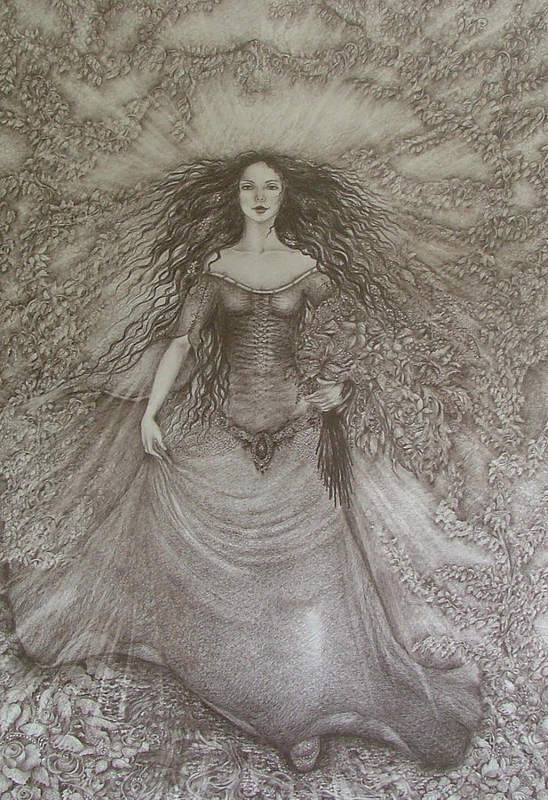 Spring Drawing - Victory Of Spring by Rita Fetisov