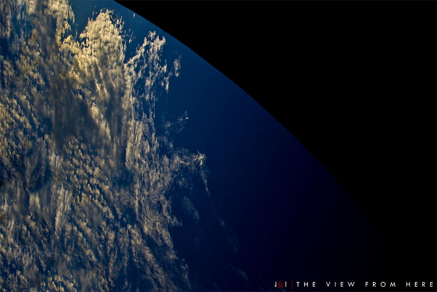 Earth Photograph - The View From Here by Jonathan Ellis Keys